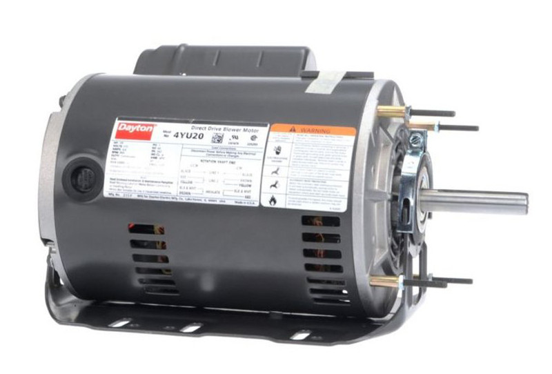 Direct Drive Blowers Product : Hp direct drive blower motor rpm v dayton yu