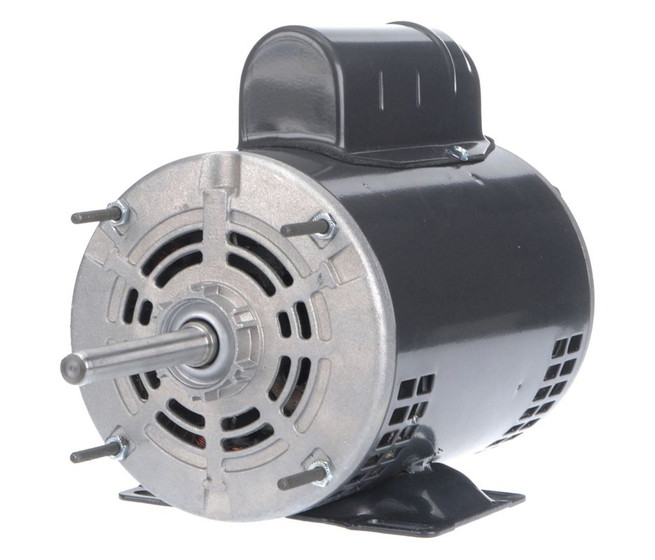 3 4 hp direct drive blower motor 1140 rpm 115 230v dayton for Dayton direct drive fan motor