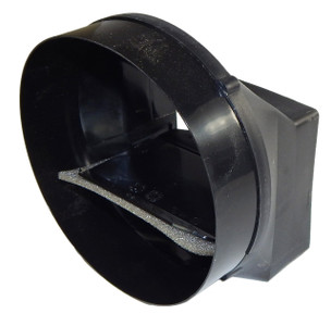 "Broan Damper / Duct Connector - 6"" Round 97016450"