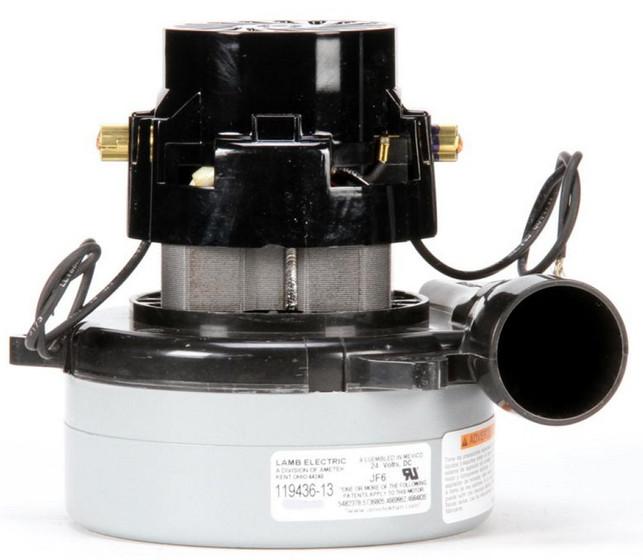 Ametek Lamb Vacuum Blower Motor 24vdc 119436 13