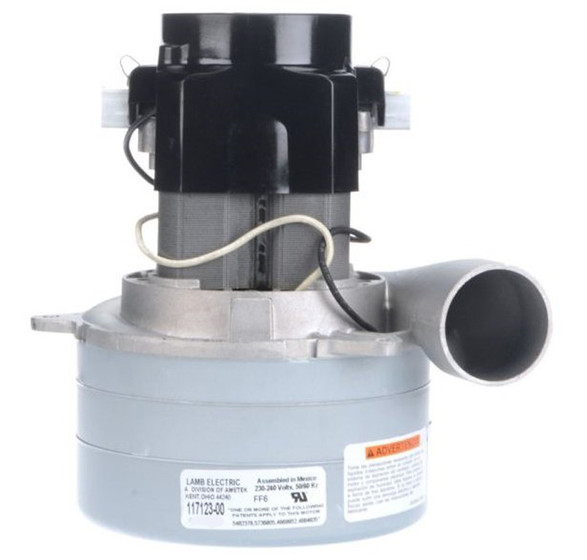 Ametek lamb vacuum blower motor 240 volts 117133 00 for Lamb electric blower motors