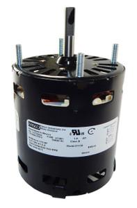 Krack Refrigeration Motor (E206444, E206445) 1/15 hp 1630 RPM 115V Fasco D1156