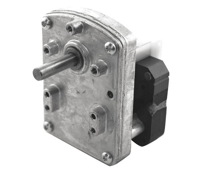 Dayton model 52je17 ac parallel shaft gear motor 4 rpm 1 for 4 rpm gear motor