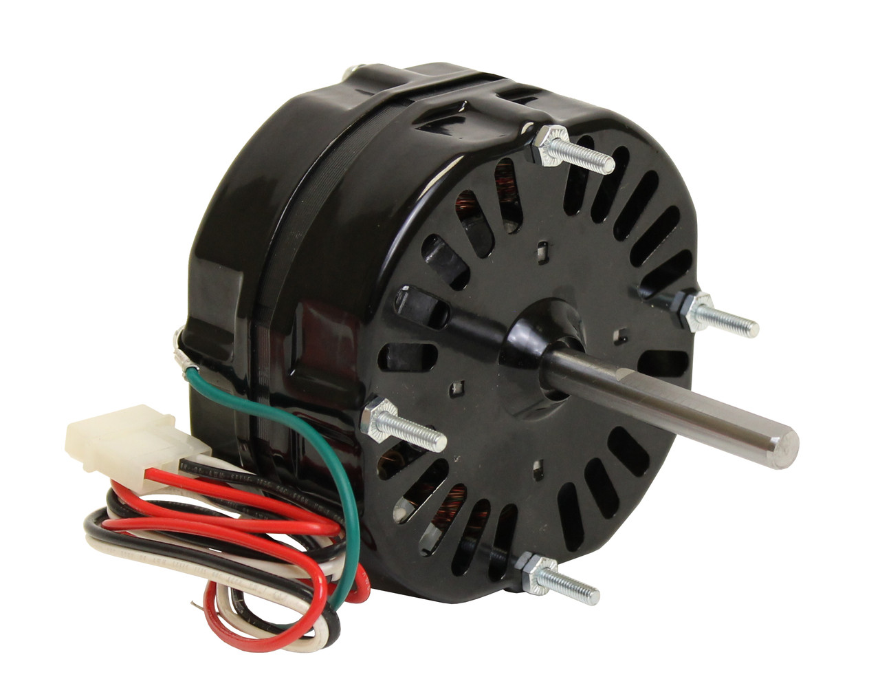 Wiring schematic delco 1 2 hp motor 115 208 230 47 for Two speed electric motor