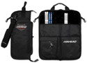 AHEAD DELUXE STICK CASE  (Black with Black Trim, Plush interior)