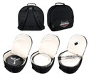 Ahead Bags Drum Throne/Student Snare Case, dimensions are 17 x 16 x 7""