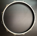 "14"" 12 Hole Chrome/Steel S-Hoop MARCHING 3mm Thick"