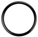 "Bass Drum O's - 6"" Black Drum O's"