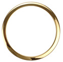 "Bass Drum O's - 6"" Brass Drum O's"