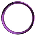 "Bass Drum O's - 6"" Purple Chrome Drum O's"
