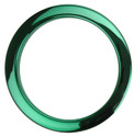 "Bass Drum O's - 4"" Green Chrome Drum O's"