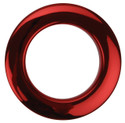 "Bass Drum O's - 2"" Red Chrome Drum O's/Tom Ports (2 Pack)"