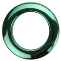 "Bass Drum O's - 2"" Green Chrome Drum O's/Tom Ports (2 Pack)"