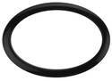 "Bass Drum O's - 6"" Black Oval"