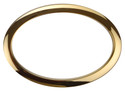 "Bass Drum O's - 6"" Brass Oval"
