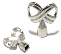 Infinity Symbol Drum Key, Stainless Steel