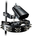 "Rhythm Tech 5"" Studio Cowbell +DST10 Mountable Tambourine & DSM2 Universal Mount"