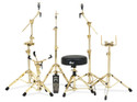 DW DOUBLE TOM STAND GOLD
