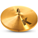 "ZILDJIAN 15"" K LIGHT HIHAT - BOTTOM"