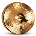 "ZILDJIAN 18"" K SYMPHONIC LIGHT BRILL PAIR"