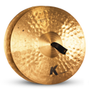 "ZILDJIAN 19"" K SYMPHONIC TRADITIONAL SERIES PAIR"
