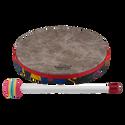 """Remo Drum, KIDS PERCUSSION¨, Hand Drum, 10"""" Diameter, 1.25"""" Depth, Fabric Rain Forest"""