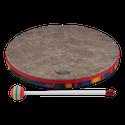 """Remo Drum, KIDS PERCUSSION¨, Hand Drum, 14"""" Diameter, 1.25"""" Depth, Fabric Rain Forest"""