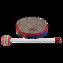 """Remo Drum, KIDS PERCUSSION¨, Hand Drum, 6"""" Diameter, 1.25"""" Depth, Fabric Rain Forest"""