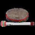 """Remo Drum, KIDS PERCUSSION¨, Hand Drum, 8"""" Diameter, 1.25"""" Depth, Fabric Rain Forest"""