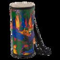 "Remo Drum, KIDS PERCUSSION¨, Konga, 6"" Diameter, 15"" Height, Fabric Rain Forest"