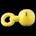 "Remo Kids Make Music Instrument, Baby Maraca, 2"" x 5"", Hard Plastic, Loop Handle, Yellow"