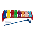 """Remo Kids Make Music Instrument, Glockenspiel, 9 5/8"""" x 4 3/8"""", One Octave, Mallets"""