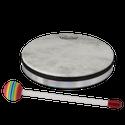 """Remo Kids Make Music Instrument, Hand Drum, 8"""" x 1.5"""", FIBERSKYN¨, Mallet"""