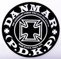 DANMAR BASS DRUM IMPACT PAD- Iron Cross