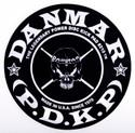 DANMAR BASS DRUM IMPACT PAD- Skull