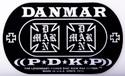 DANMAR DOUBLE KICK BASS DRUM IMPACT PAD- Iron Cross