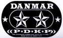 DANMAR DOUBLE KICK BASS DRUM IMPACT PAD- Stars