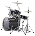 "Pearl Export Series 5-piece set EXX725/C31 (12""x8""T, 13""x9""T, 16""x16""F, 22""x18""BD, 14""x5.5""SD), w/ HWP830 (Cymbals Sold Separately)"