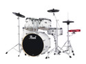 "Pearl Export Series 5-piece set EXX725/C33  (12""x8""T, 13""x9""T, 16""x16""F, 22""x18""BD, 14""x5.5""SD), w/ HWP830 (Cymbals Sold Separately)"