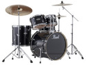 "Pearl Export Series 5-piece set EXX725S/C31  (10""x7""T, 12""x8""T, 16""x16""F, 22""x18""BD, 14""x5.5""SD), w/ HWP830 (Cymbals Sold Separately)"