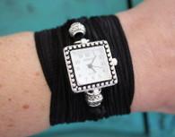 Ribbon Wrap Watch - Square