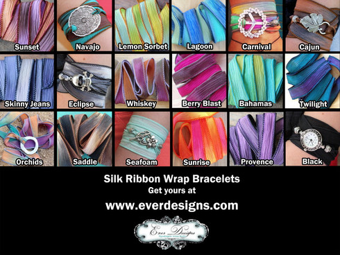 Silk Ribbon Colors