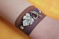 Serenity Ribbon Wrap Bracelet