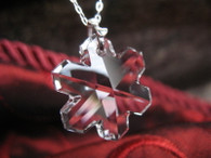 Crystal Snowflake Necklace by Ever Designs Jewelry