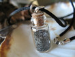 First Beach Sand Bottle Necklace - Contains authentic sand from La Push First Beach, WA. The perfect gift for any Twilight fan!