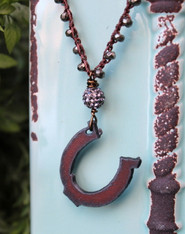 Horseshoe Bohemian Necklace