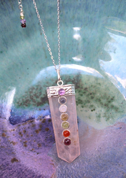 Chakra Necklace - Rose Quartz