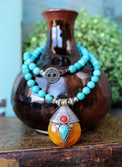 Wanderer Turquoise Necklace