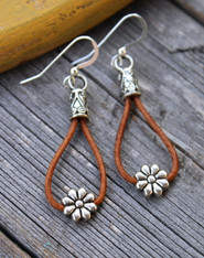 Cowgirl Daisy Earrings