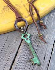 Bohemian Key Necklace